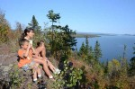Hiking with kids on the Nipigon River Trail